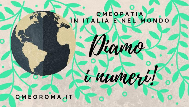 L'omeopatia nel 2019 in Italia e nel mondo: diamo i numeri!
