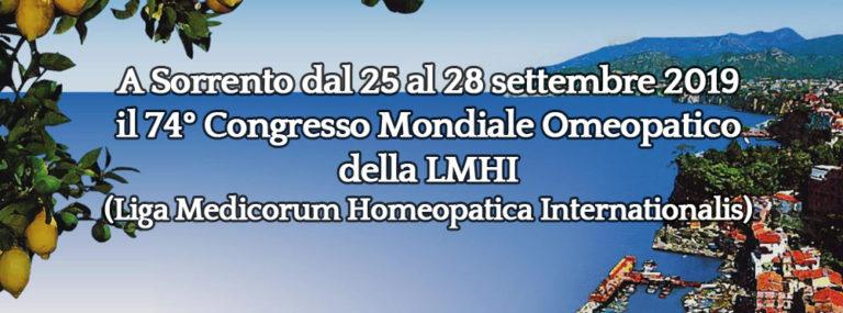 Congresso Mondiale di Omeopatia: siamo pronti!